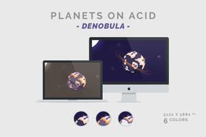 Planets on Acid 'DENOBULA' Wallpaper 5120X2880px by dpcdpc11