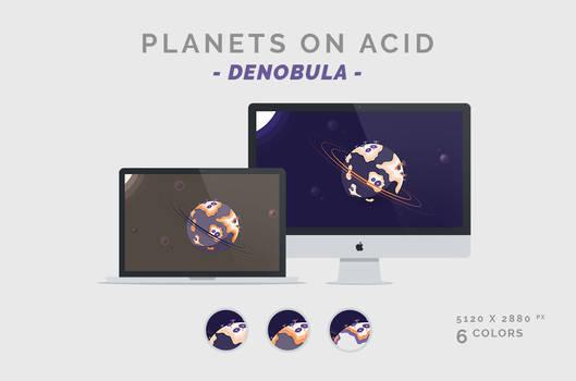 Planets on Acid 'DENOBULA' Wallpaper 5120X2880px