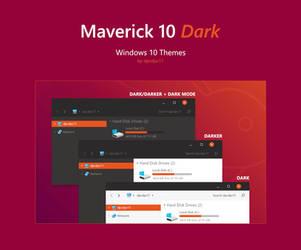 Maverick 10 Dark - Windows 10 Theme by dpcdpc11