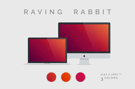 Raving Rabbit Wallpaper 5120X2880px