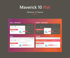 Maverick 10 Flat - Windows 10 Theme by dpcdpc11