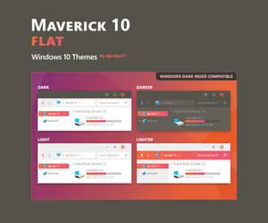 Maverick 10 Flat - Windows 10 Theme
