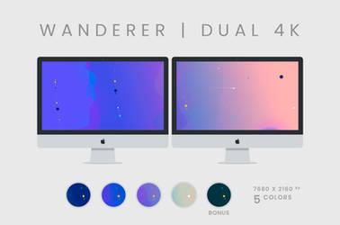 Wanderer Wallpaper Dual 4K