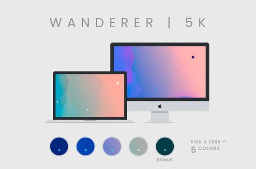 Wanderer Wallpaper 5120x2880px