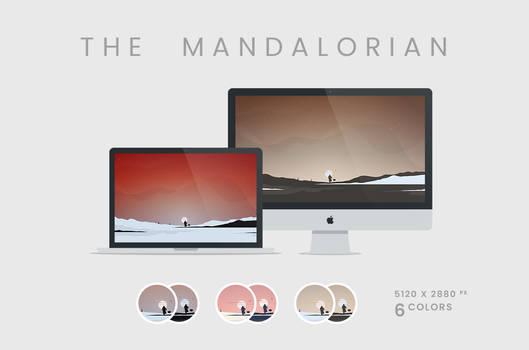 The Mandalorian Unofficial Wallpaper 5120x2880px