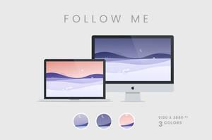 Follow Me Wallpaper 5120x2880px