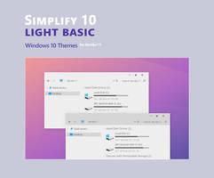Simplify 10 Light Basic - Windows 10 Theme