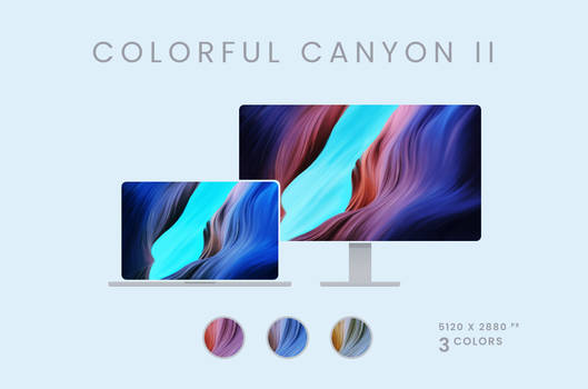 Colorful Canyon II Wallpaper Pack 5120x2880px