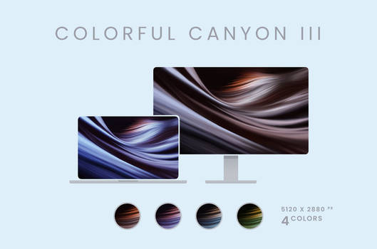 Colorful Canyon III Wallpaper Pack 5120x2880px