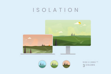Isolation Wallpaper Pack 5120x2880px