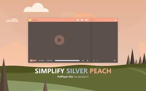 Simplify Silver Peach for PotPlayer