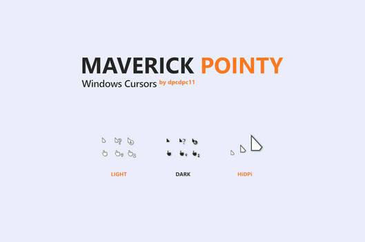 Maverick Pointy Windows Cursors
