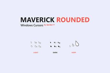 Maverick Rounded Windows Cursors
