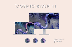 Cosmic River III Wallpaper Pack 5120x2880
