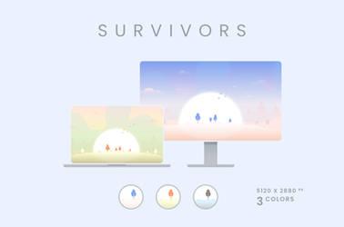 Survivors Wallpaper Pack 5120x2880px