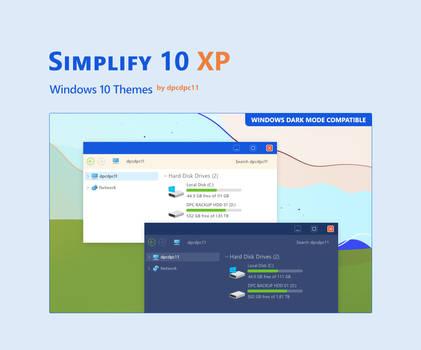 Simplify 10 XP - Windows 10 Theme