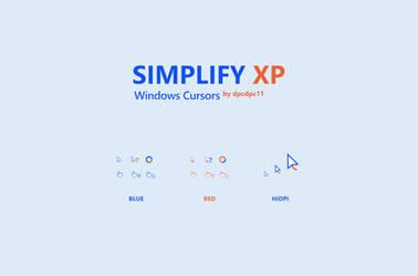 Simplify XP Windows Cursors