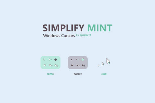 Simplify Mint - Windows Cursors