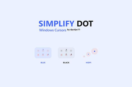 Simplify Dot - Windows Cursors