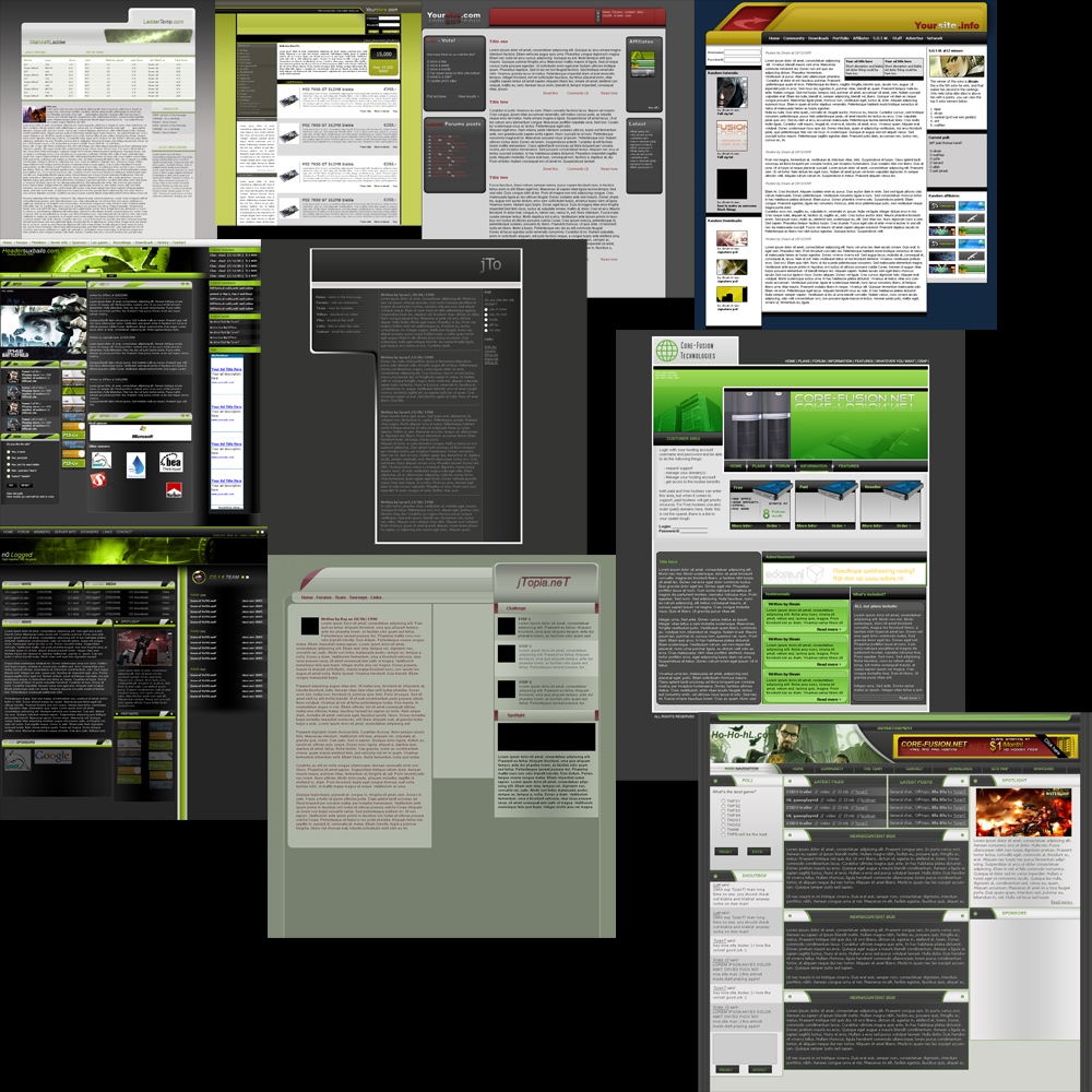 template psd pack by Tyr4nT