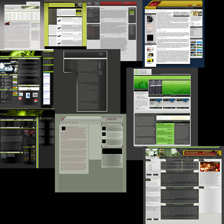 template psd pack