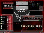 Disturbed in red