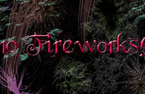 Firework Brushes by Thy-Darkest-Hour