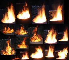 16 Large Fire Stocks by Thy-Darkest-Hour