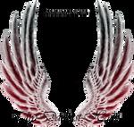 Jasmine Wings - Red-Black