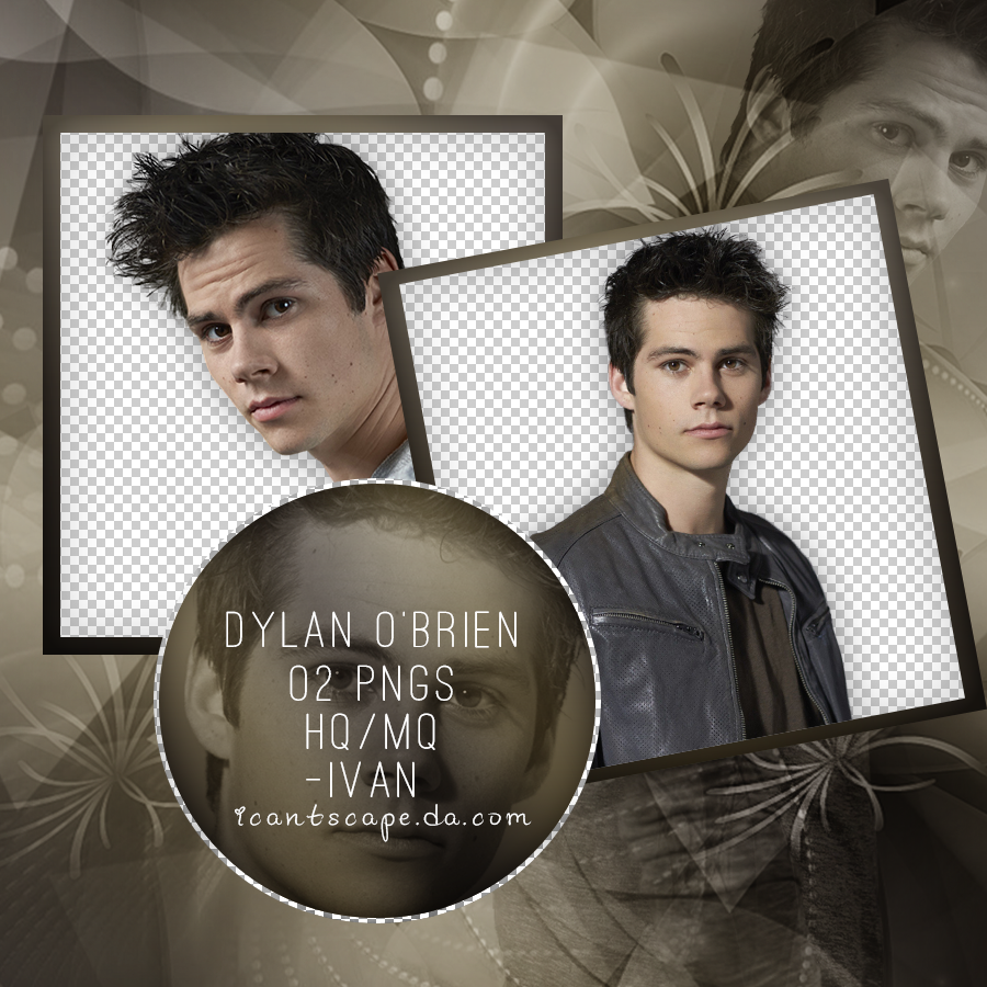 Pack png // Dylan O'brien by ICantScape