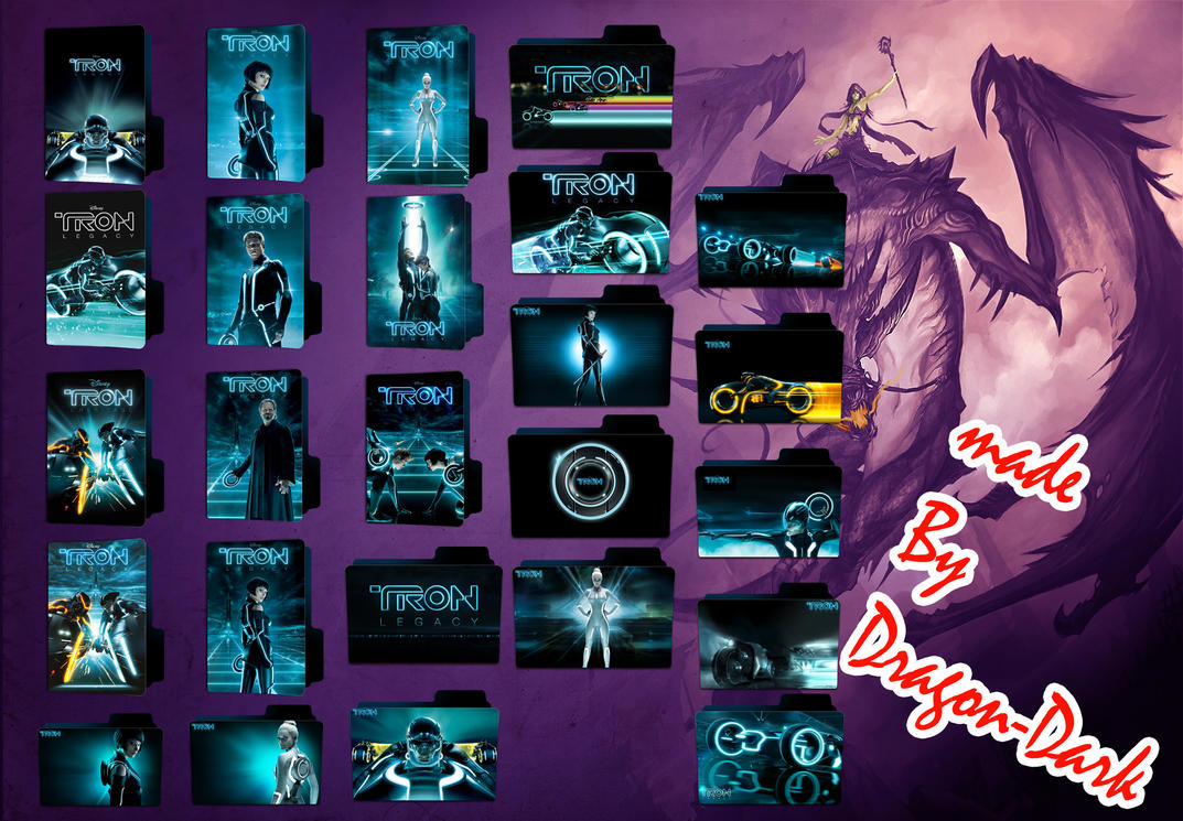 Tron Legacy 2010 by Dragon-Dark