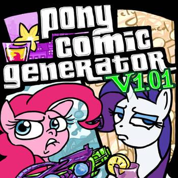 Pony Comic Generator v1.01 - Vacation Update