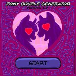 Pony Couple Generator v1.0 by GingerFoxy
