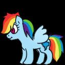 Rainbow Dash Shimeji