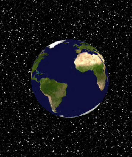 Rotating Earth Animation by amouna389 on DeviantArt