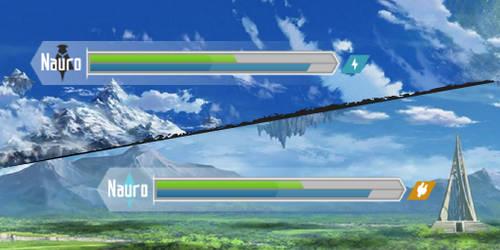 Sword Art Online Health Bar (ALO)