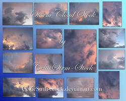 Storm Cloud Stock Pack by CelticStrm-Stock
