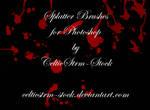 Splatter Brushes by CelticStrm-Stock