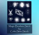 Magic Brushes Set 4 by CelticStrm-Stock