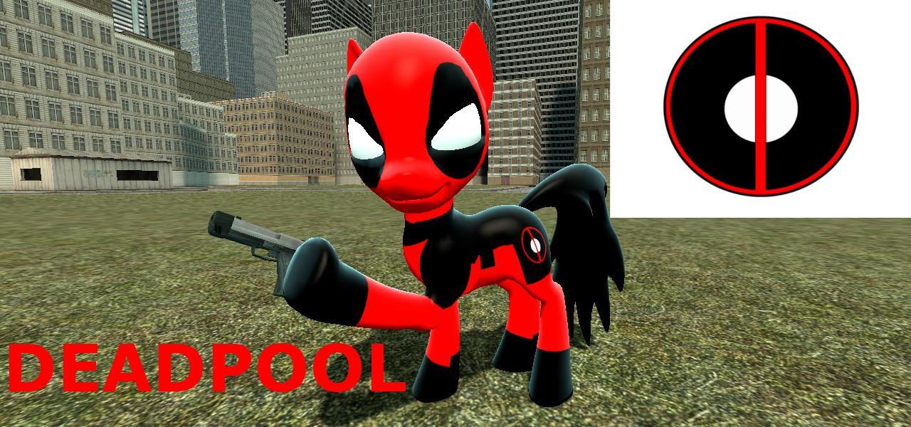 Deadpool (pony) DL link by mRcracer