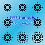 Flower Mandala - GIMP brushes