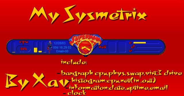 My Superman -sysmetrix by Xav73