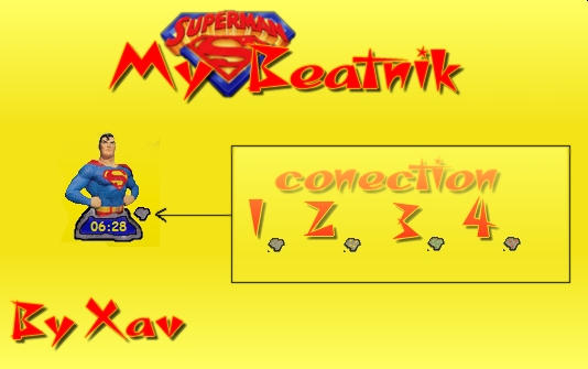 My Superman -beatnik by Xav73