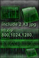 My Matrix 2 -wallpaper by Xav73