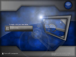 R-Grille Blue by Xav73