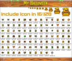 My Halloween iconphile by Xav73