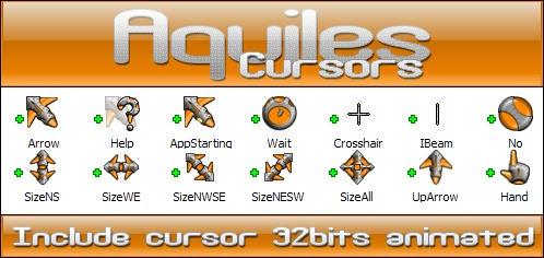Aquiles cursor 32bits by Xav73
