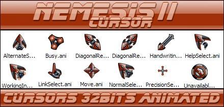 Nemesis II cursor 32bits by Xav73