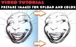 Tutorial: fixing scanned image by zelas