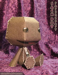 Sackboy Papercraft Pattern